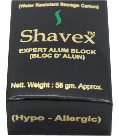 ALUM BLOCKS - Natural Aseptic Soothing After Shave Skin Care - Biggest Selection  AnyWhere