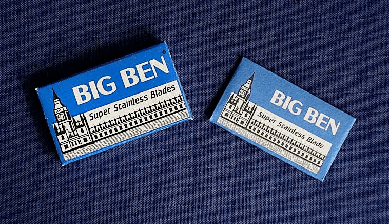 "Big Ben ""Super Stainless""  Blue - 5 pk"
