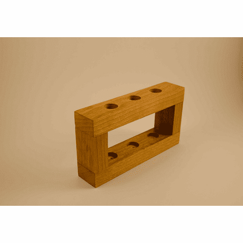 Cherry Wood Stands - Accomodate 3, 4, 5 or 6 razors