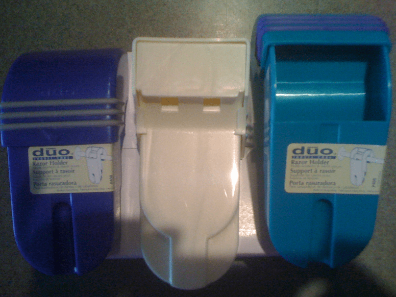 Duo Razor Case - Perfect for the Shower or for Travel
