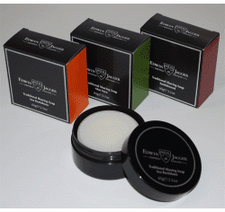 EDWIN JAGGER - 99.9% Natural - SHAVE SOAP in Travel Tub