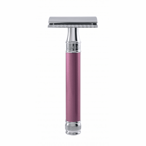 """Edwin Jagger Diffusion DELRO14bl - Rose """"Pearl Effect"""" Extra Long Handle"""