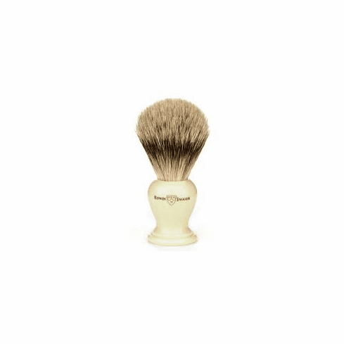 Edwin Jagger EJ367 SUPER Badger - Ivory Handle - 3 sizes