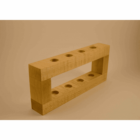Maple Wood Stands - Accomodate 3, 4, 5 or 6 razors