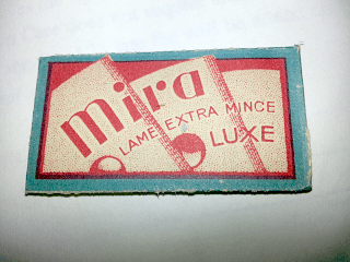"""MIRA Luxe """"Lame Extra Mince"""""""