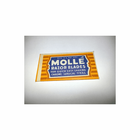 """MOLLE  """"Chrome Surgical Steel"""""""
