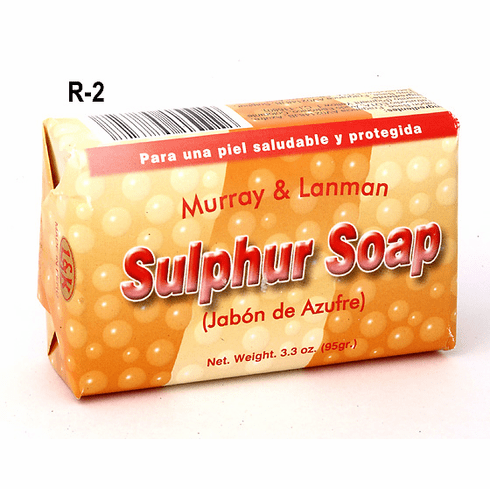 Murray and Lanman - SULPHUR Soap - For Troubled Skin & Troubled Souls
