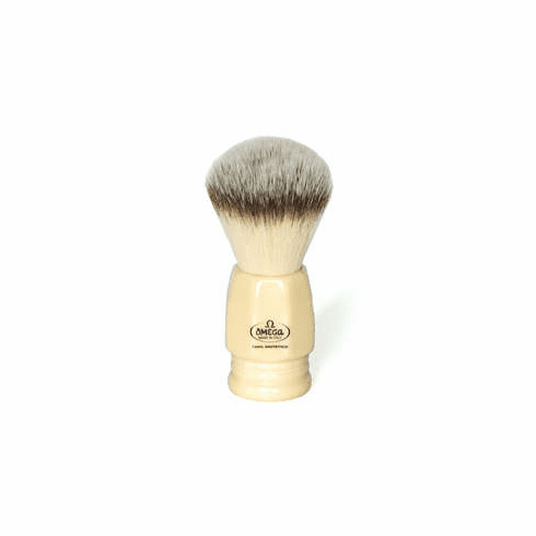 Omega #346235 - Top of the Line Artificial Badger Shaving Brush