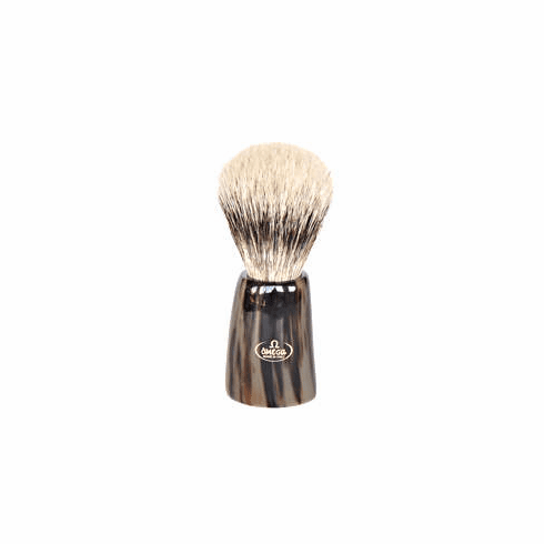 Omega #6226 - Gorgeous Polished POWDER OX Horn Silvetip
