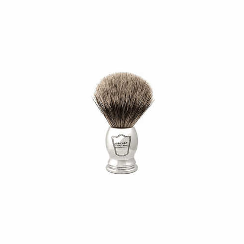 Parker CHPB Pure Badger Shaving Brush - Classy Chrome Handle