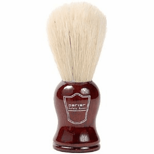 Parker RoseWood Handle Boar Brush + FREE Acrylic Lucite Stand