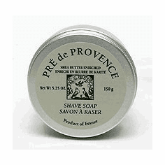 Pre De Provence - Superb Shea Butter Shaving Soap - in a Nice TIN