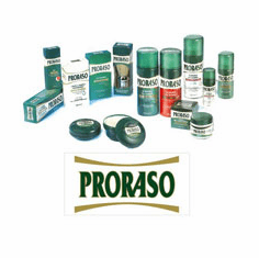 PRORASO - Since 1926 - Superb Shave Products from Florence Italy