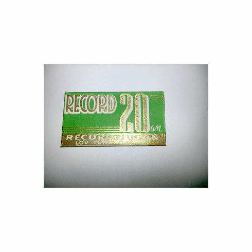 """RECORD """"20:an"""""""