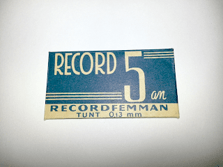 """RECORD """"5:an"""""""
