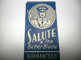 """SALUTE """"The Better Blade"""""""