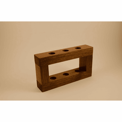 Sapele Wood Stands - Accomodate 3, 4, 5 or 6 razors