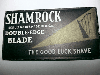 """SHAMROCK """"The Good Luck Shave"""""""