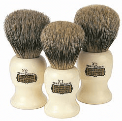 Simpsons COMMODORE X1 - Best Badger Shaving Brush