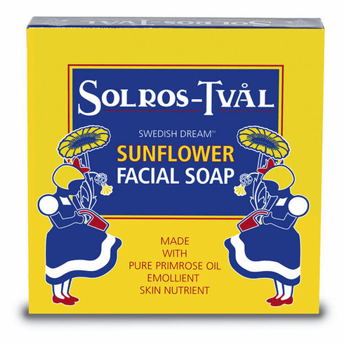 Solros-Tval Sunflower & Primrose Facial Soap - Ultra luxurious & Beneficial - Uber-Skintastic