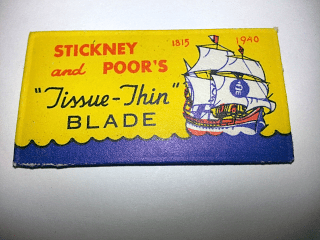 """STICKNEY and POOR'S """"Tissue-Thin"""""""
