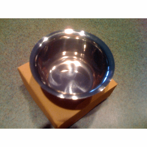 Sui Generis Shave Bowl - Stainless Steel - Mirror Finish