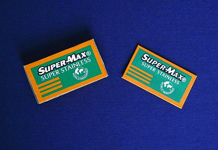 Super-Max Stainless - 5 pk