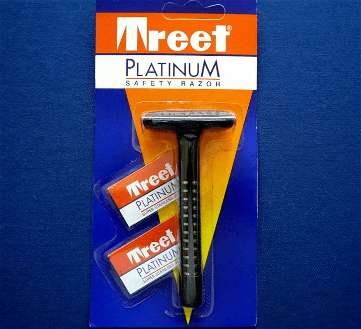 Treet Platinum aka 'The Del-Rin' rebranded as a Wilkinson Sword in some markets