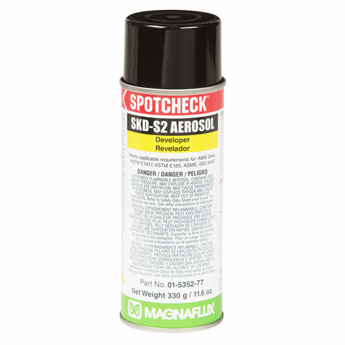 Magnaflux Spotcheck SKD-S2 Developer - 16 oz. Aerosol