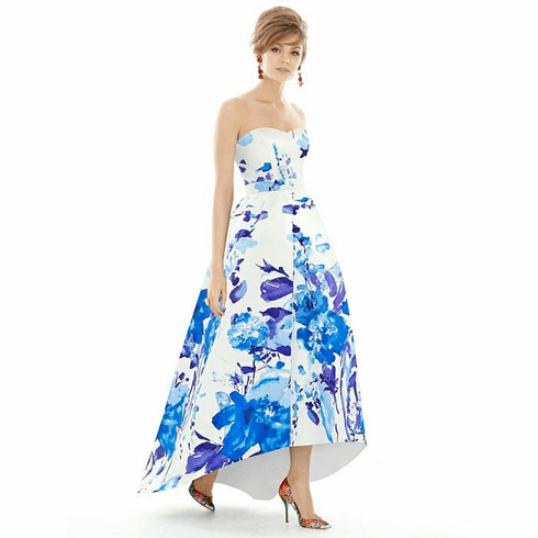Alfred Sung Bridesmaid Dress Style D699FP