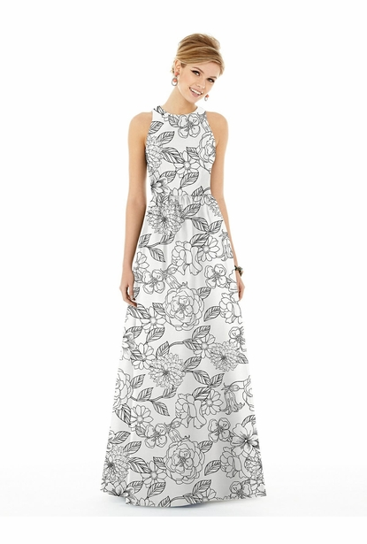 Alfred Sung Bridesmaid Dress Style D707FP