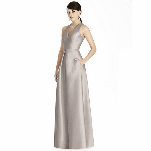 Alfred Sung Bridesmaid Dress Style D747