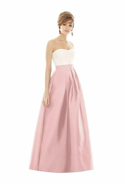 Alfred Sung Bridesmaid Dress Style D755