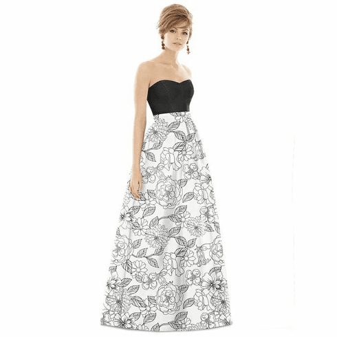 Alfred Sung Bridesmaid Dress Style D755CP