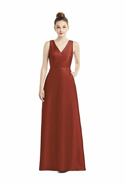 Alfred Sung Bridesmaid Dress Style D778