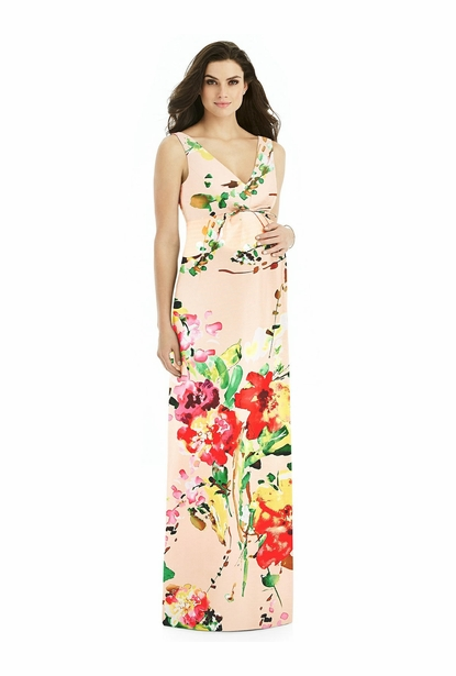 Alfred Sung Maternity Bridesmaid Dress Style M439FP