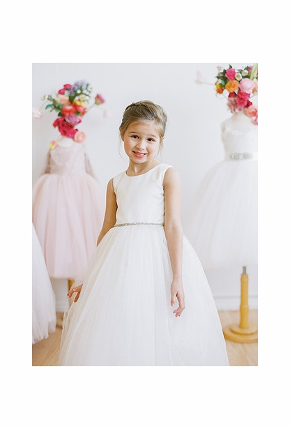 Amalee Accessories Flower Girl Dress <br>Style FG102B
