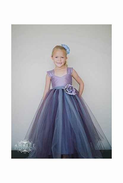 Amalee Accessories Flower Girl Dress <br>Style FG103