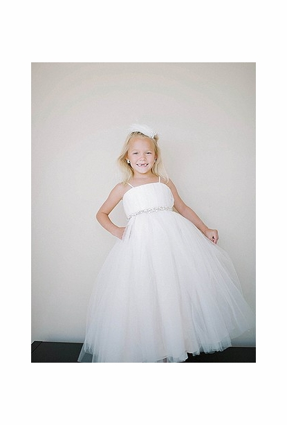 Amalee Accessories Flower Girl Dress <br>Style FG105
