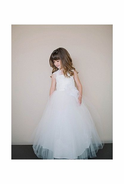 Amalee Accessories Flower Girl Dress <br>Style FG108
