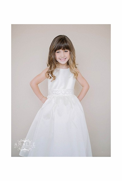 Amalee Accessories Flower Girl Dress <br>Style FG112