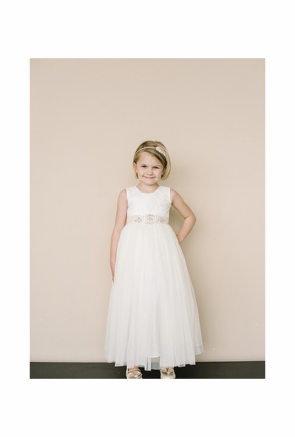 Amalee Accessories Flower Girl <br>Dress Style FG117
