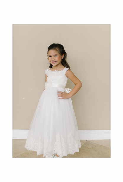 Amalee Accessories Flower Girl Dress <br>Style FG119