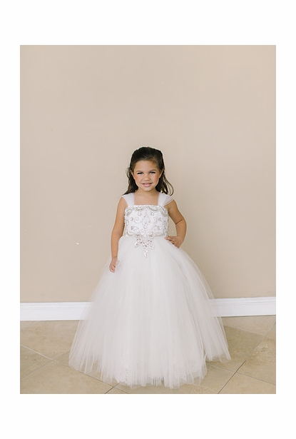 Amalee Accessories Flower Girl Dress <br>Style FG127