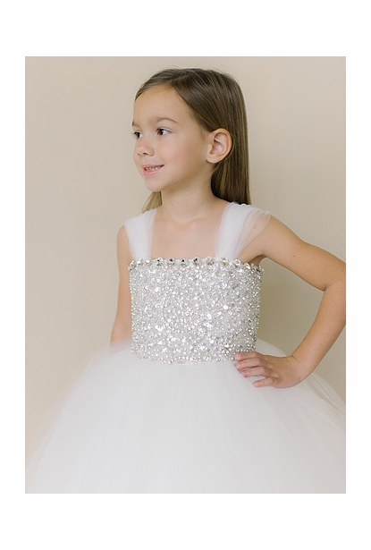 Amalee Accessories Flower Girl Dress <br>Style FG130