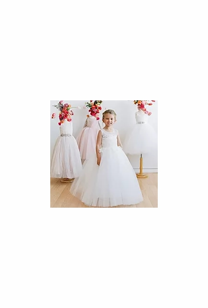 Amalee Accessories Flower Girl Dress <br>Style FG143