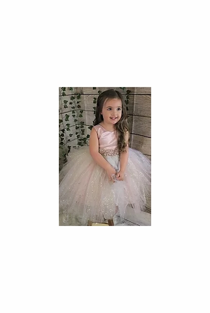 Amalee Accessories Flower Girl Dress <br>Style FG348