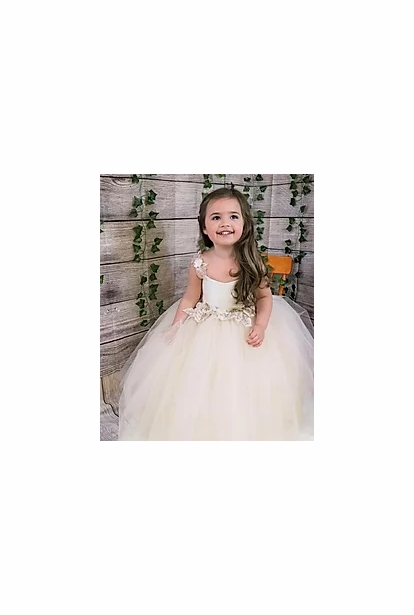 Amalee Accessories Flower Girl Dress <br>Style FG373