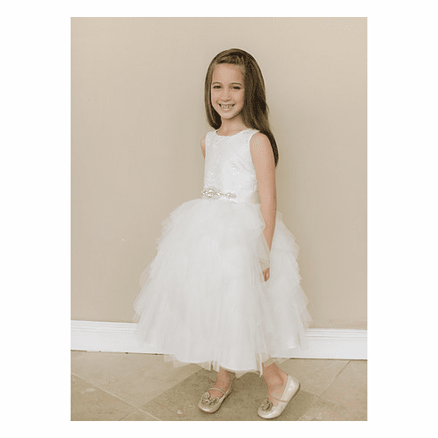 Amalee Accessories Flower Girl Dress <br>Style FG115