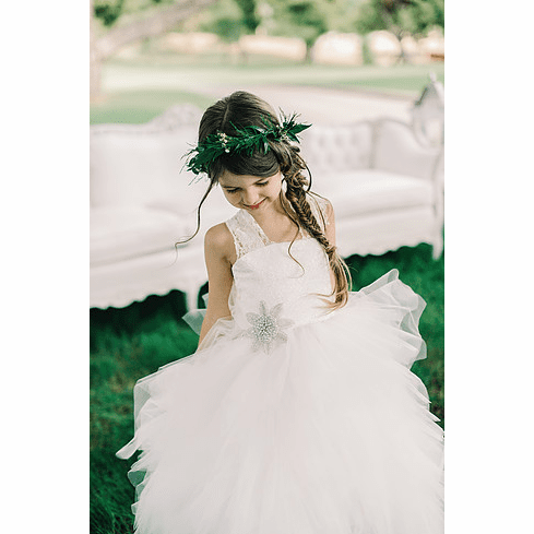 Amalee Accessories Flower Girl Dress <br>Style FG121